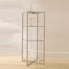 52in.H Folding Glass Tower