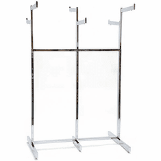 6-Way Garment Rack Chrome