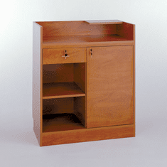 60in. Cash Wrap Cabinet