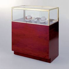 72in. Quarter Vision Jewelry Display Case