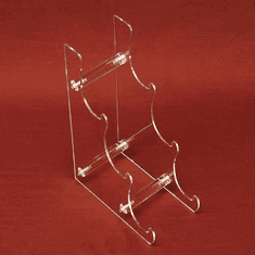Acrylic 3-Tier Display Easel