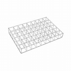 Acrylic 54 Bin Adjustable Trays