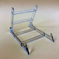 Acrylic Adjustable Folding Easels (Dozen)