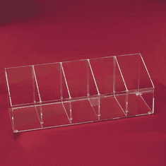 Acrylic Adjustable Large Angled Bins