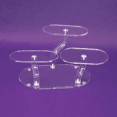 Acrylic Adjustable Platform Riser
