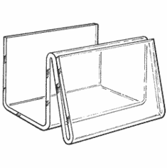 Acrylic Business Card Holders with Display
