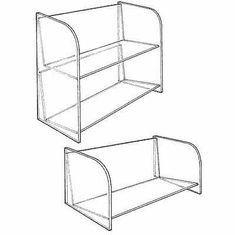 Acrylic Compact-Disc Shelves