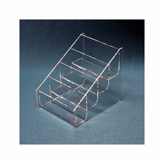 Acrylic Deluxe Multi-Tiered Brochure Holders