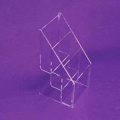 Acrylic Deluxe Multi-Tiered Catalog Holder