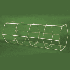 Acrylic Divided Hexagonal Bins