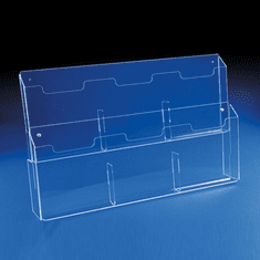 Acrylic Double Deep 8-1/2in. x 11in. Wall Mounting Catalog Holders