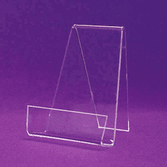 Acrylic Front Lip Book Easels