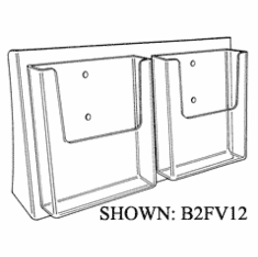 Acrylic Full View Rack For 8-1/2in. x 11in.