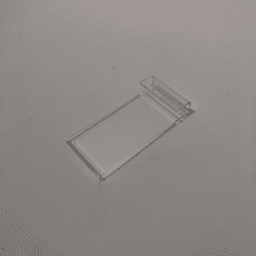 "Acrylic Gridwall Sign Holder 2"" x 3-1/2"""