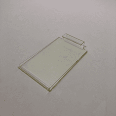 "Acrylic Gridwall Sign Holder 3-1/2"" x 5-1/2"""