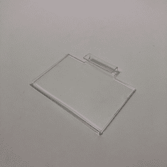 "Acrylic Gridwall Sign Holder 5-1/2"" x 3-1/2"""