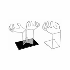 Acrylic Hand Shaped Risers
