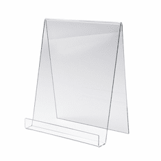 Acrylic Large Display Easel W / 1in.D Lip