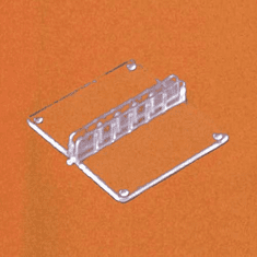 Acrylic Machine-Molded Sign Clip