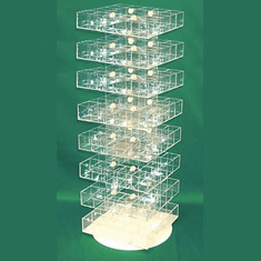 Acrylic Multistory Display Bins 8 Tier