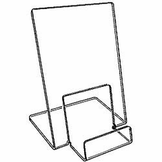 Acrylic Single Folded-Shirt Easel Small
