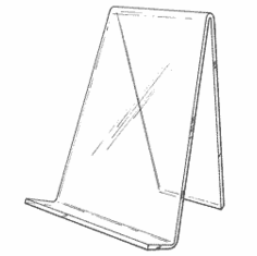 Acrylic Standard Book Easels