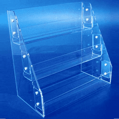 Acrylic Straight-Rack Card Displays