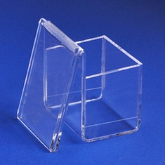 Acrylic Vertical Business Card Holder with Display