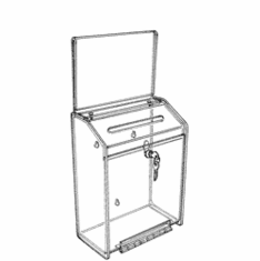 Acrylic Wall Hanging Collection/Ballot Boxes