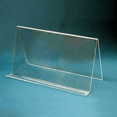 Acrylic Wide-Style Ledge Easels