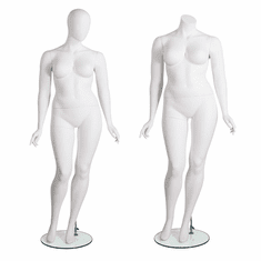 Amber Series Plus Size Mannequins