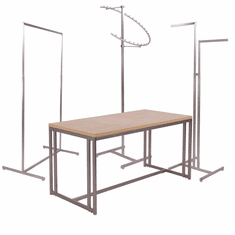 Boutique Collection Clothing Racks and Tables