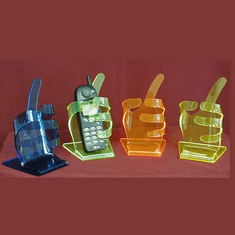 Cell Phone Hand Display