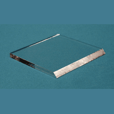 Clear Acrylic Label Bases