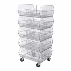 Collapsible Stacking Bin 5 Tier