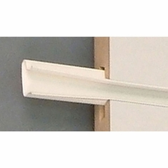 "Color Snap Slatwall Insert 96"" Set of 16 inserts White"