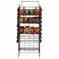 Convenience Store Wire Display Rack
