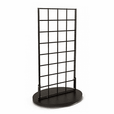 Counter Top 2 Sided Grid Spinner Black