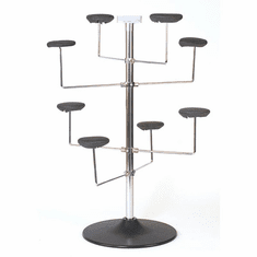 Counter Top Millinery Rack Holds 8 Hats