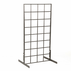 Countertop Grid Unit With Legs Black