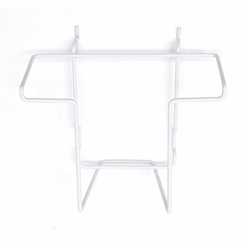 Countertop Literature Holder fits Slatwall, Gridwall, Pegboard White