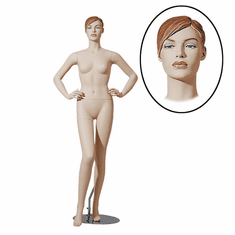 Designer Female Mannequin w/ Hands on Hips