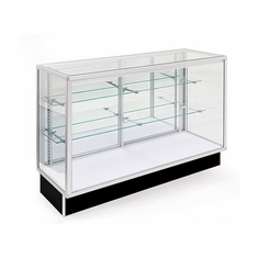 "Extra Vision Economy Display Case 48"" with light"