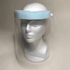 Face Shield with Foam Pad and Elastic Headband