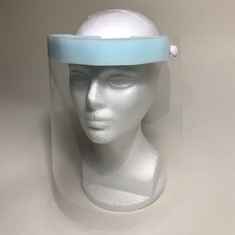 Face Shield with Foam Pad and Elastic Headband Case of 500