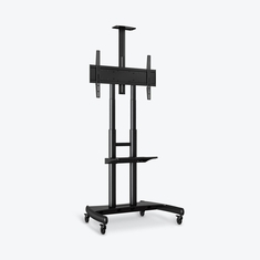 Flat Screen TV Stand Adjustable Height Large Capacity