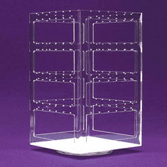 Four-Sided Rotating Earring Display