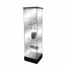Frameless Tower Case with Lock
