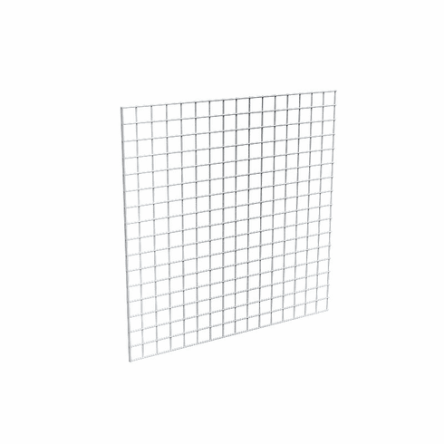 Gridwall Panel 4ft x 4ft Chrome