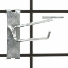 Gridwall Scanner Hook - 6in. Zinc Finish